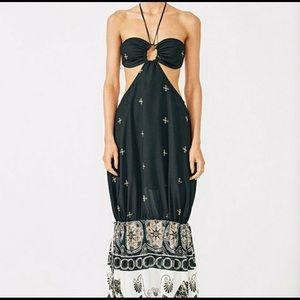NWT Shona Joy Mansart Bandeau Maxi Dress